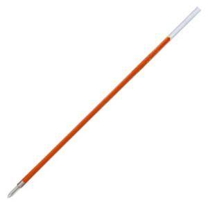(まとめ) 三菱鉛筆 油性ボールペン替芯 0.7mm 赤 ...