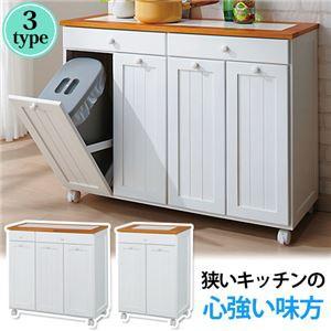 2トーン分別ダストボックス(ゴミ箱) 【1: 2分別...