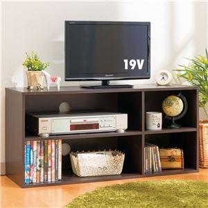 シンプルテレビ台(カラーボックス/テレビボード) ...