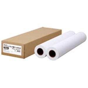 ジョインテックス プロッタコート紙 610mm幅2本入...