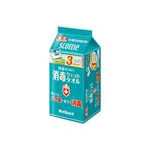 (業務用10セット)クレシア 消毒ウエットタオル ...