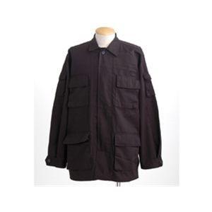 アメリカ軍 BDUジャケット/迷彩ジャケット 〔Lサ...