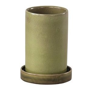 インテリアポット 陶器製植木鉢 カーム シリンダ...