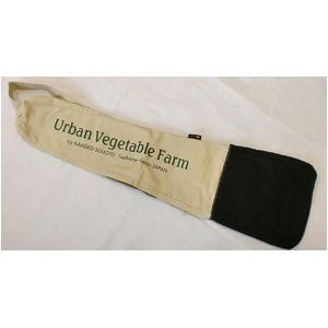 ツールバッグ 〔ショルダータイプ〕 可変伸縮式 帆布製 日本製 ホワイト(白) Urban Vegetable Farm 〔