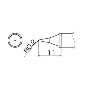 白光 T12-WI こて先/WI型 高熱容量