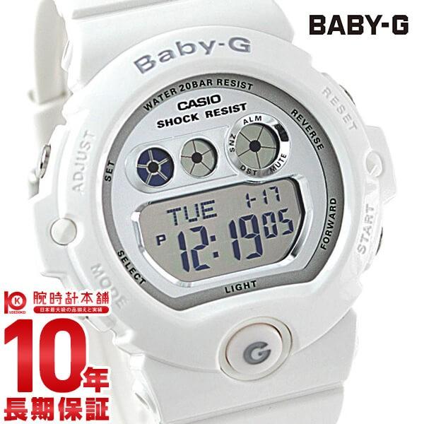 カシオ ベビーG BABY-G シルバー×ホワイト  BG-...