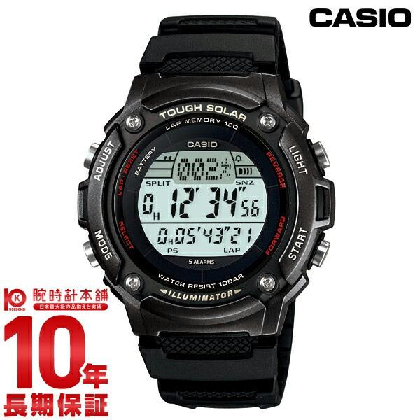 カシオ CASIO スポーツギア ソーラー W-S200H-1BJ...