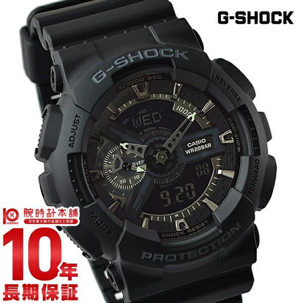カシオ Gショック G-SHOCK Gショック GA-110-1B...