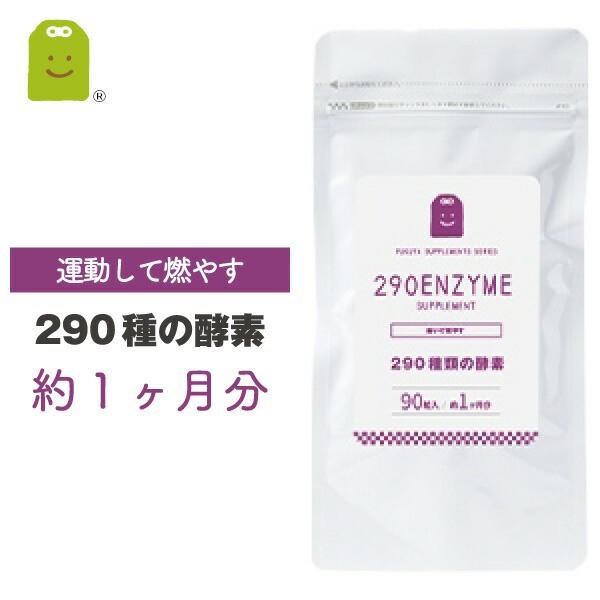 お試し 酵素 サプリメント 290種の酵素配合の健康...