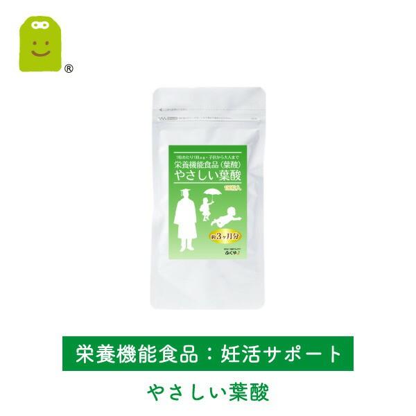 葉酸 サプリメント (約90日分・180粒入)【メール...