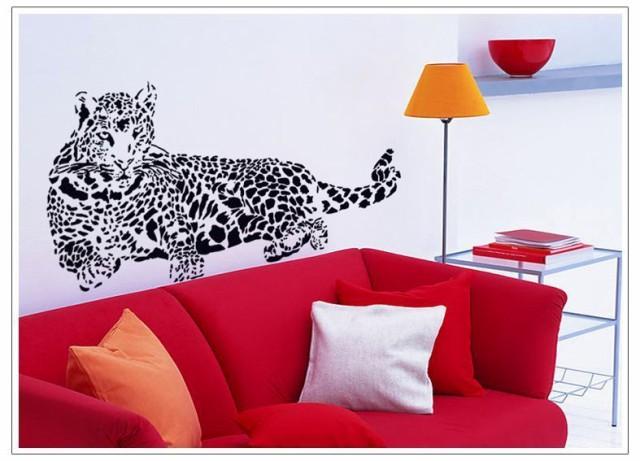 ウォールステッカー【Leopard】60×90cm 壁紙 シ...