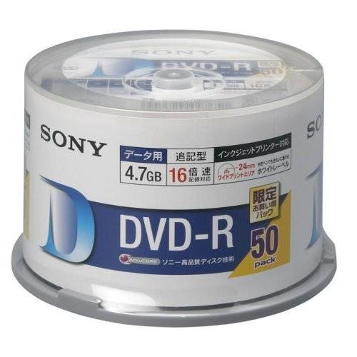 SONY 50DMR47HPHG [データ用DVD-R (4.7GB 16倍速 ...