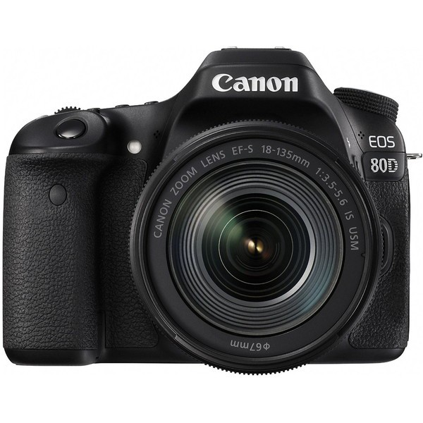 CANON EOS 80D EF-S18-135 IS USM レンズキット EOS [デジタル一眼カメラ(約2420万画素)]