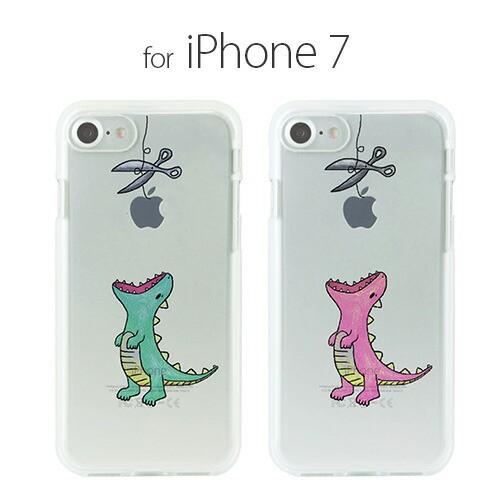 iPhone7 ケース Dparks ソフトクリアケース はら...