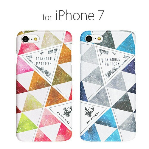 iPhone7 ケース Happymori Triangle Pattern(ハ...