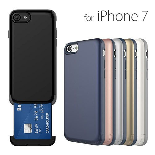 iPhone7 ケース カバー NINE O'Clock Card Slot c...