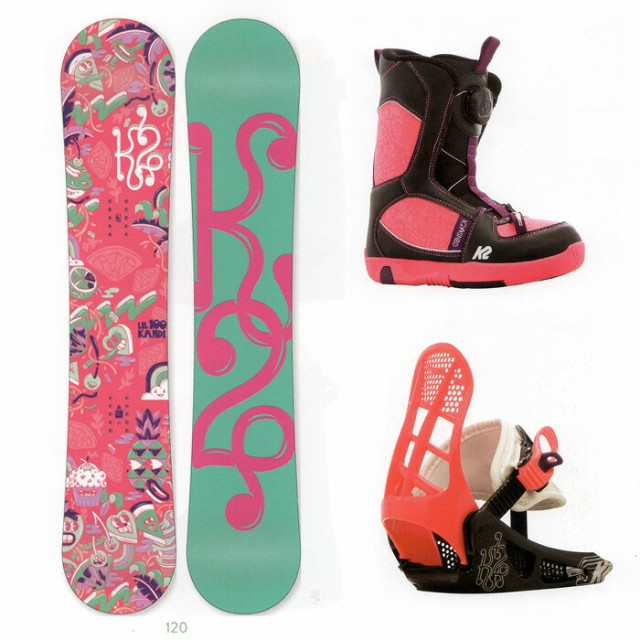 K2 SNOWBOARDING [ GIRLS GROM PACKAGE Aタイプ ]...