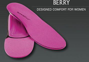 SUPER feet [ TRIM FIT BERRY @5616] スーパーフ...