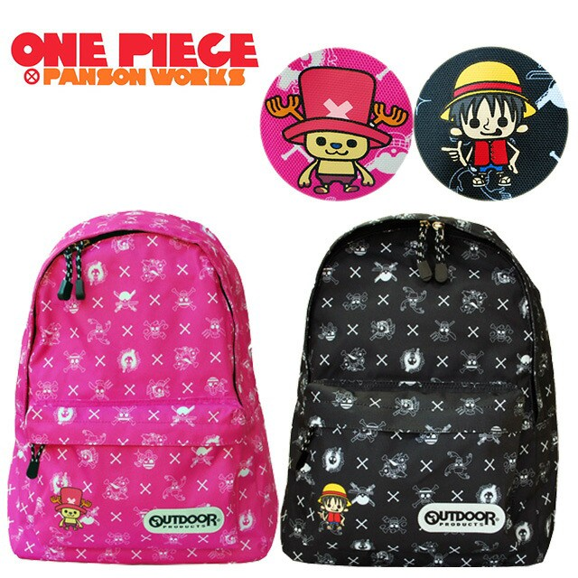 ONE PIECE×OUTDOOR リュックサック/ワンピースと...