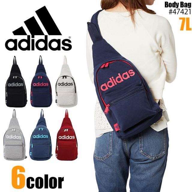 アディダス ボディバッグ 7L スウェット adidas ...