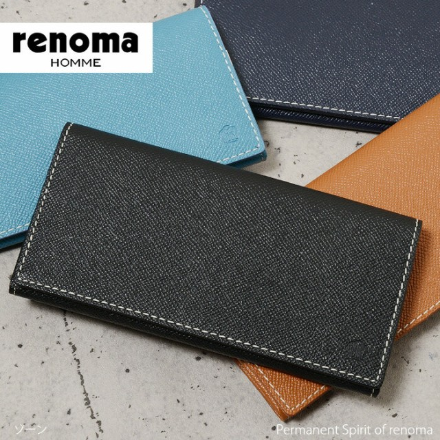 レノマ renoma 長財布 ゾーン 515615 メンズ 革 ...