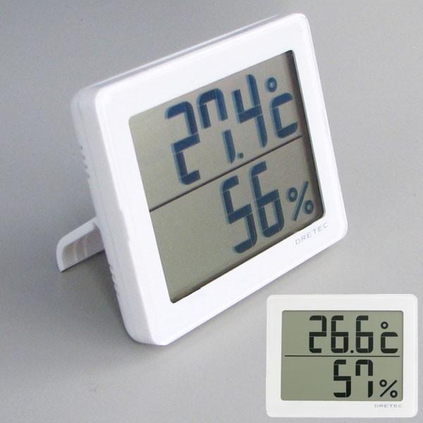 DRETEC(ドリテック)O-226 デジタル温湿度計[ア...