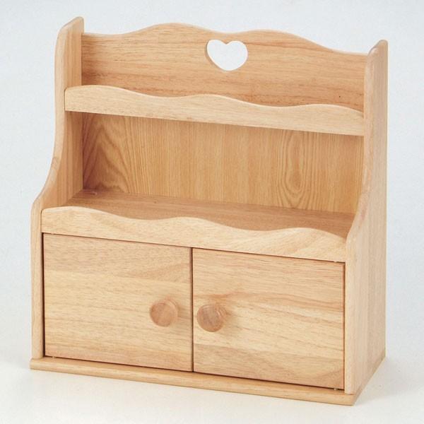 木製キッチン調味料ラックH-3656