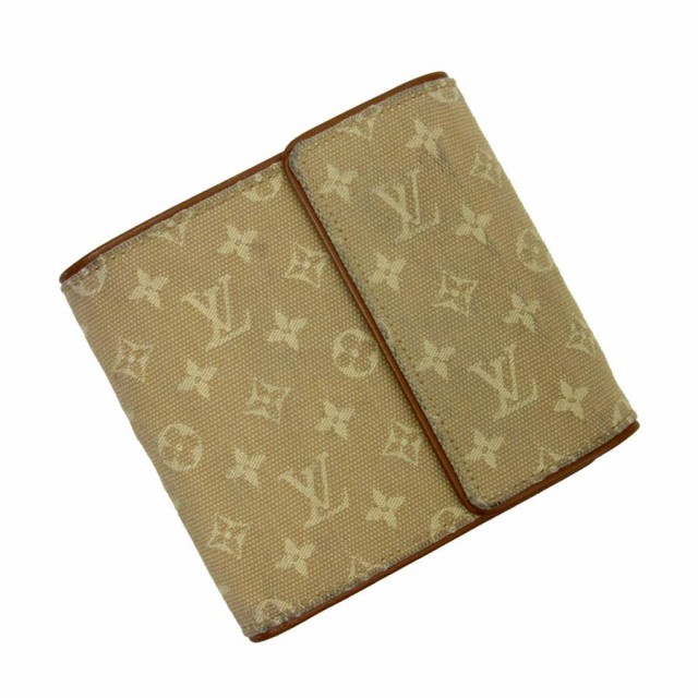 【定番人気】【中古】ルイヴィトン 三つ折り財布 ...