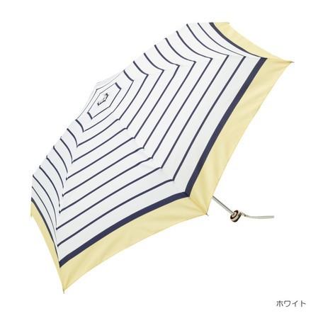 折り畳み傘 レディース 傘 雨傘 折傘 リムカラー ...