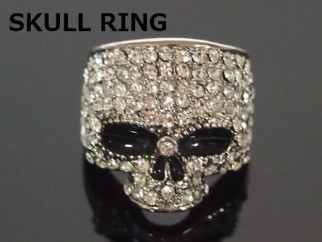 指輪 リング メンズ 小物 ユニセックス髑髏 スカ...