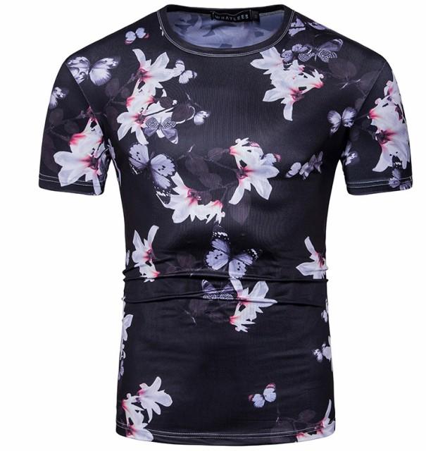 Tシャツ メンズ トップス シャツ 半袖 プリント ...