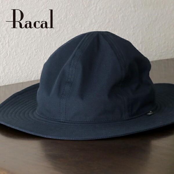 racal メトロハット 帽子 日よけ 秋冬 ロングブリ...
