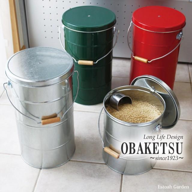 米びつ おしゃれ ライスストッカー 10kg OBAKETSU...