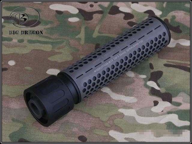 BIGDRAGON KAC Style QDC/CQB サプレッサー BK L