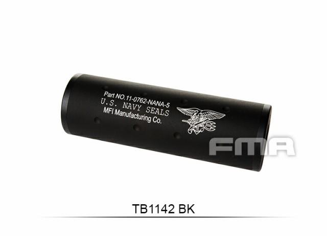 FMA?Navy Force サイレンサー 107mm BK 14mm正/逆...