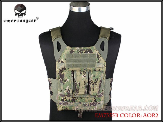 EMERSON  N Jump Plate Carrier NJPC プレートキ...