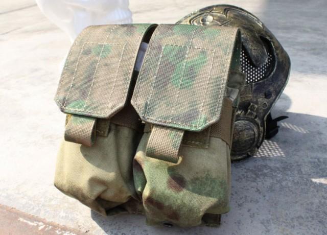 TMC M4/M16用 ダブルマガジンポーチ ATFG