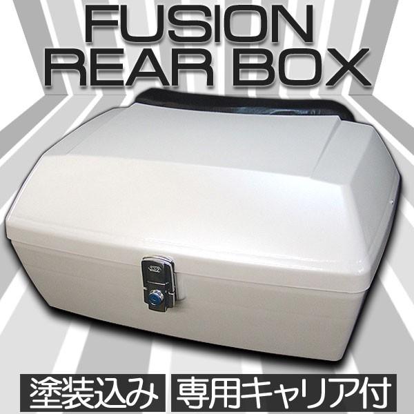 フュージョン MF02 リヤボックス ブラックキャリ...
