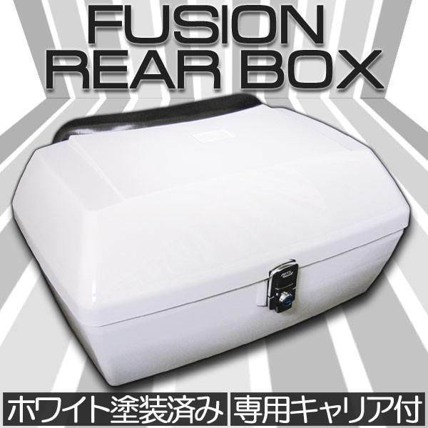 フュージョン MF02 リヤボックス ブラック キャリ...