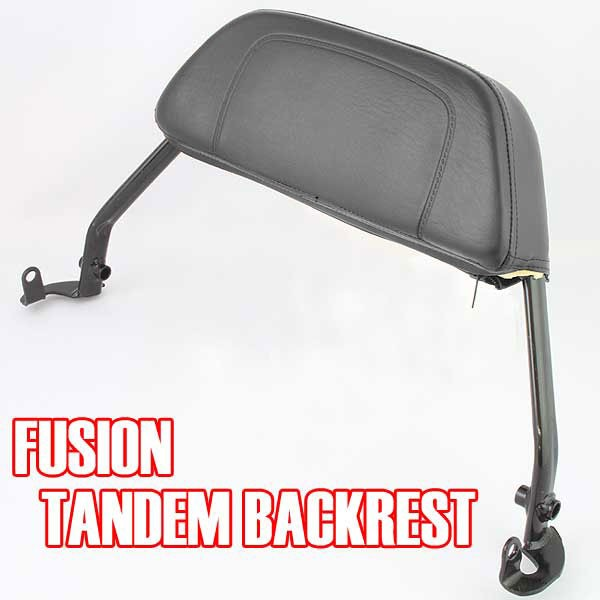 フュージョン MF02 タンデム バックレスト 外装 ...