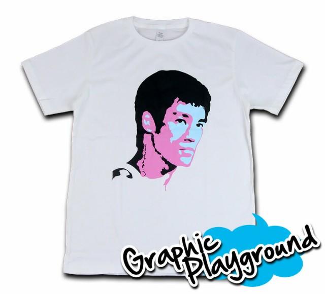 パロディーTシャツ クンフーマスター ブルース リ...