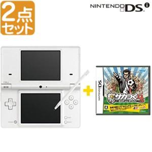 【2点セット】ニンテンドーDSiホワイト+サカつくD...