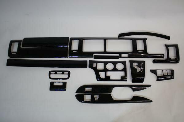 200系 ハイエース 1型,2型 ワイド用 3Dインテリア...