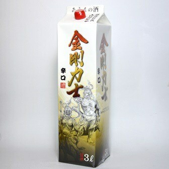 清酒『金剛力士』 3リットルパック/日本酒/3L