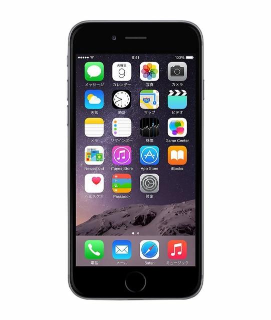 中古 スマートフォン Apple iPhone6 16GB au(エー...