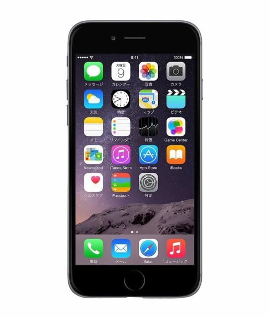 中古 スマートフォン Apple iPhone6 128GB SoftBa...