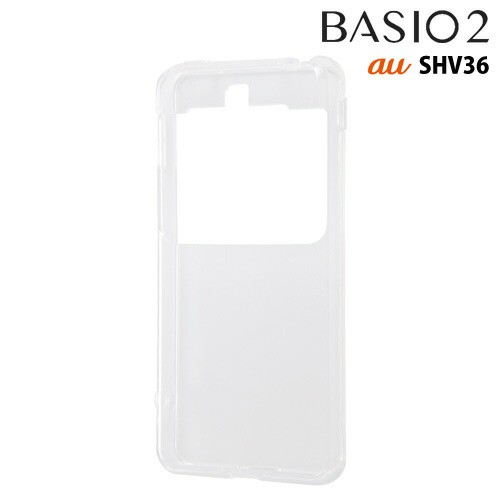 ☆ au BASIO 2 (SHV36) 専用 TPUソフトケース ウ...
