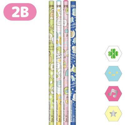 (2) すみっコぐらし キャラミックス 鉛筆 (2B) 4...