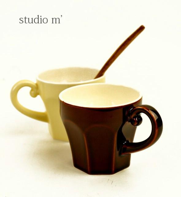 studio m'(スタジオエム)半磁器 マグカップ エピ...