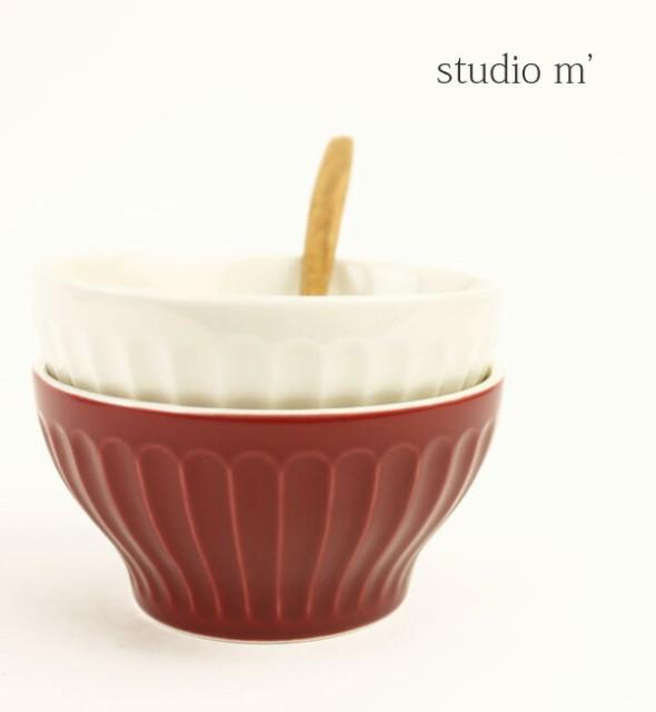 studio m'(スタジオエム)半磁器 小鉢 丼 ボウル・...